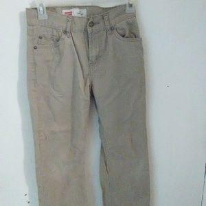 Levi's boys khaki pants